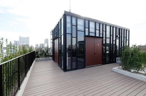 ●懇親会会場:新本社ビル7階 「コミュニティサロン」